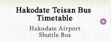 Hakodate Teisan Bus Timetable Hakodate Airport Shuttle Bus